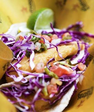 Minute Maid Park's Fish Tacos