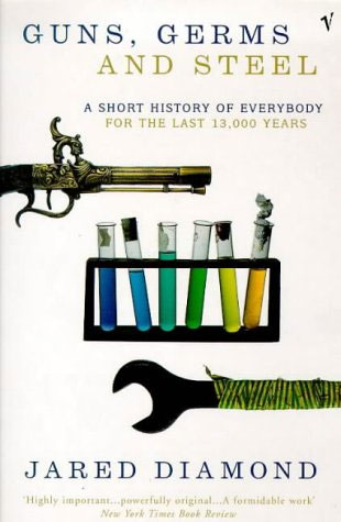"a review of the history book guns germs and steel by jared diamond Guns, germs, and steel: the fates of human societies (review) suzanne moon taking on ""big history"" in this book for diamond, guns and steel."