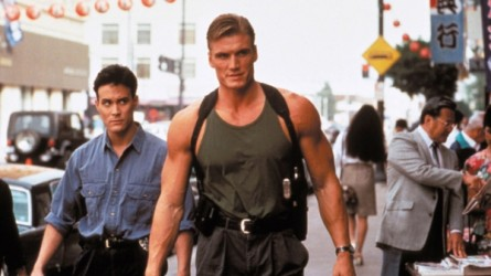Brandon-Lee-and-Dolph-Lundgren