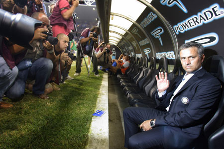 Mourinho at Inter