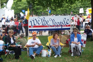 THE 9/12/09 TAXPAYER MARCH ON WASHINGTON