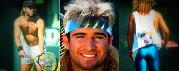 ANDRE AGASSI IS MY NEW HERO