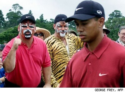 tiger-woods face paint