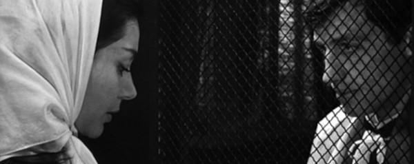 Emmanuelle Riva andÊJean-Paul Belmondo in Jean-Pierre Melville's
