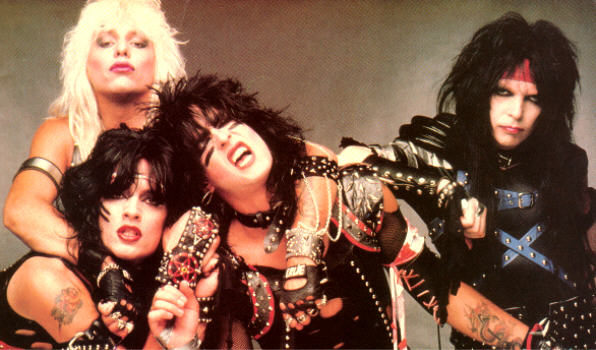 motley crue 80s prime makeup hair metal