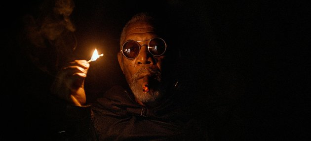 oblivian morgan freeman matrix smoke match