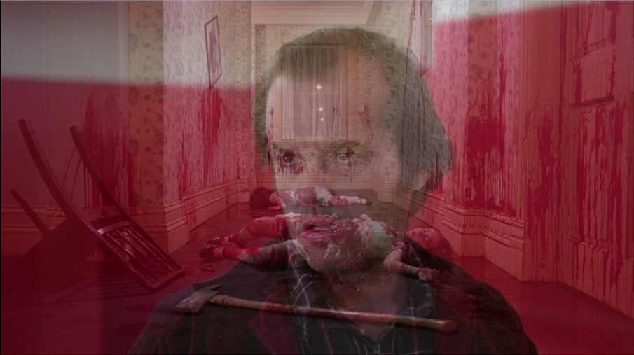 Room 237 the shining overlapping images kubrick jack blood dead sisters