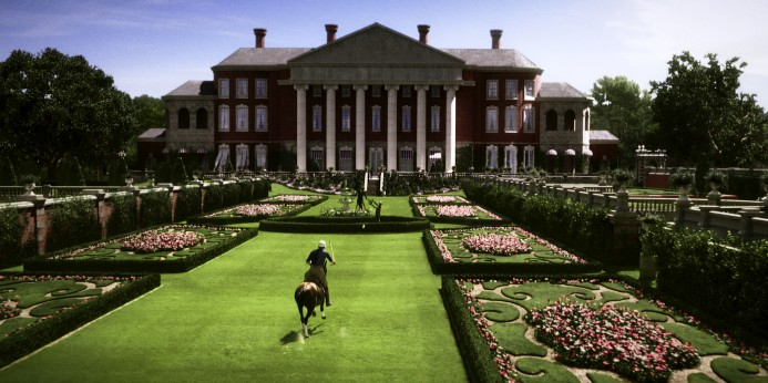 the great gatsby gatspy leonardo mansion lawn new 2013 baz lahrman screenshot still