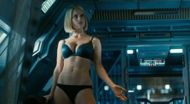 star trek into darkness bra panties naked girl hot sexy