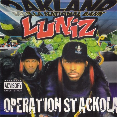 Luniz most ridiculous l ron mexico album covers yukmouth oackland scrilla national bank 90s rap hip hop