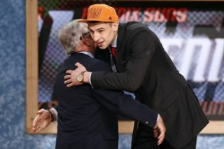 2013 nba draft alex len maryland stage recap funny stern hug