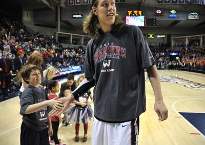 Kelly Olynyk nba 2013 draft funny no show white center tall