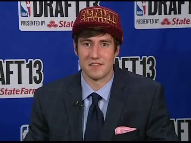 Sergey Karasev nba draft hair suit cleveland vavs cavs cavaliers russian 2013