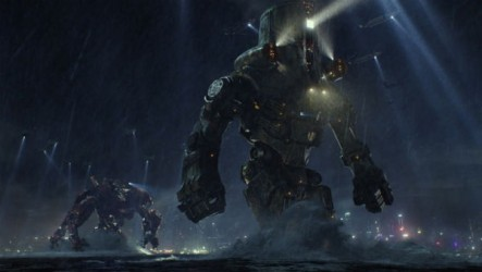 Pacific Rim is premised on the idea that the sea floor is uniformally shallow for mech wading.