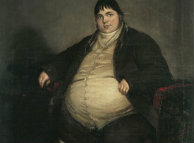 fat british english guy famous painting