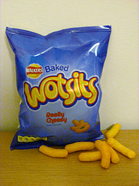 Wotsits Brit Food English food tasty