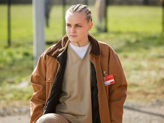 orange is the new black tricia miller character white teen tatoos hot sexy lesbian