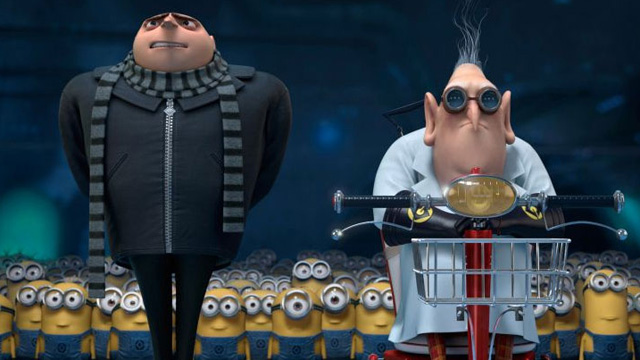 still screen shot cap screencap screenshot despicable me 2 two movie review pixar disney cartoon