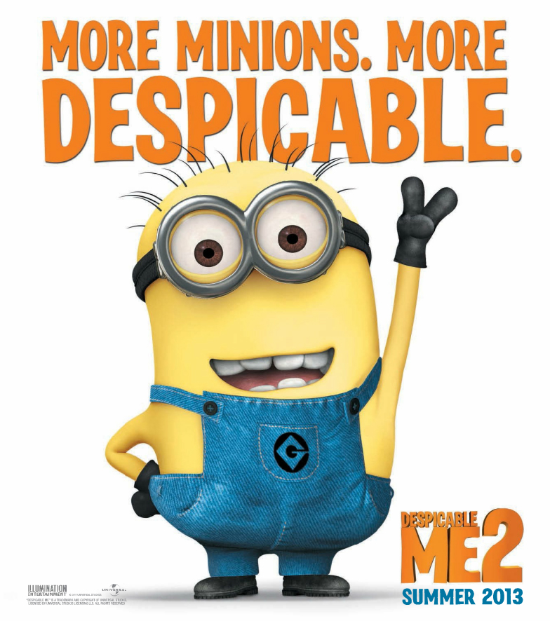 despicable-me-2 - Last Movie You've Watched - Youtube Replay