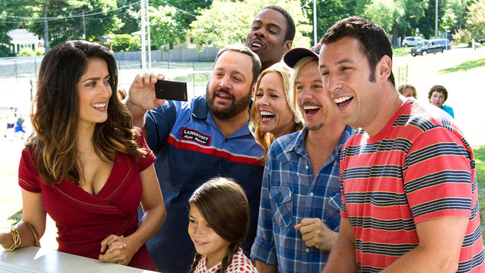 grown ups 2 group shot fair picture still screen shot terrible humor ridicule satire parody