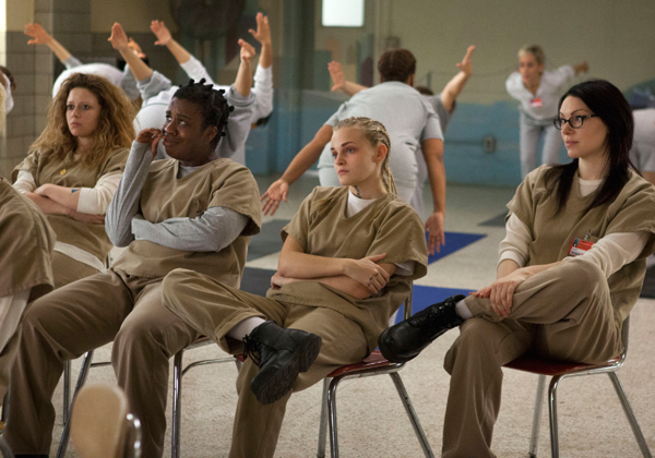 orange is the new black yoga poetry scene