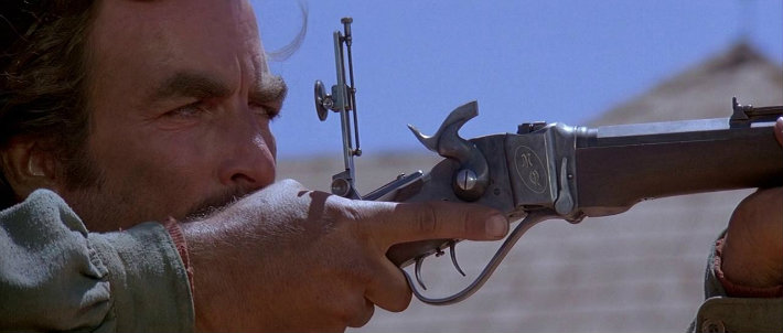 quigly down under movie still tom selleck gun shooting long screen cap review cinema film western