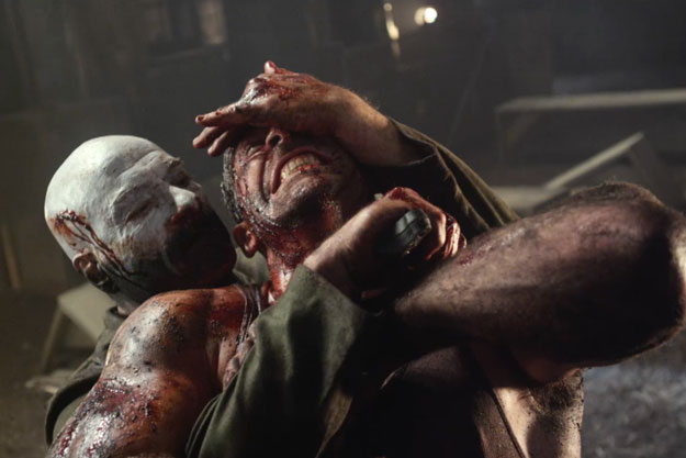 universal soldier day of reckoning review fight scene screen cap grab choke wrestling ufc