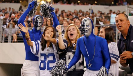cowboys fans insane costumes nfl ootball