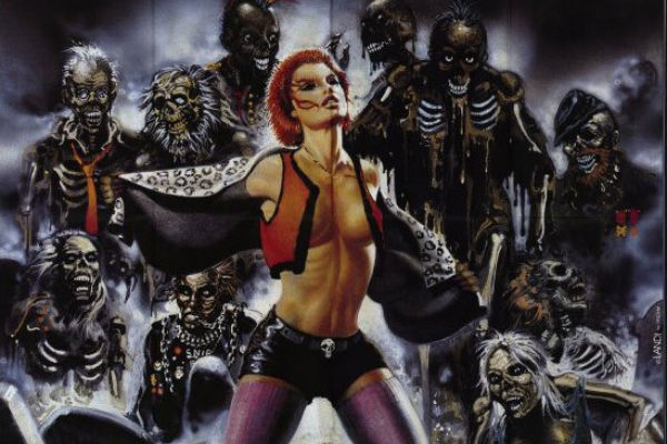 Living Dead 3 She S Very Y Dans Le Genre Trash Zombie Or Linnea Quigley Is A Great Idea Too Hehe Punk