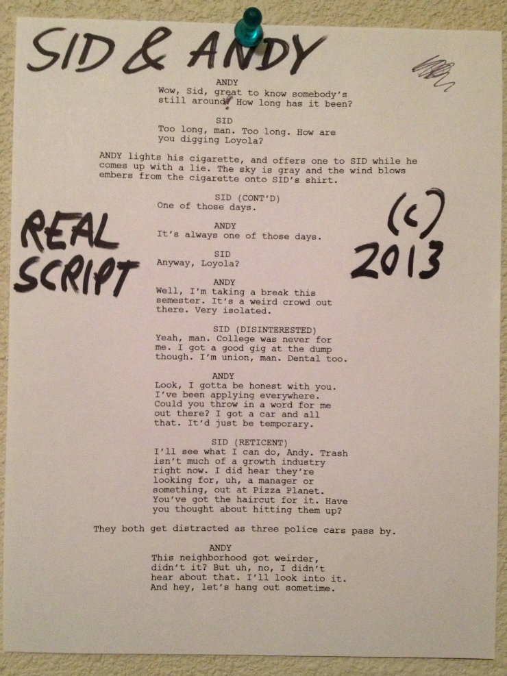 toy story 4 movie script four image