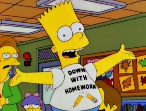 simpsons down with homeork t-shirt mad magazine bart iron ons