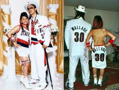 nba blazers prom pictures funny silly crazzy wallace