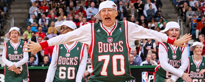 nba bucks senior dance squad funny pics image
