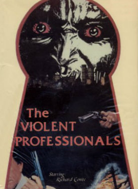 1973 violent professionals pros poster vhs dvd cover ad keyhole