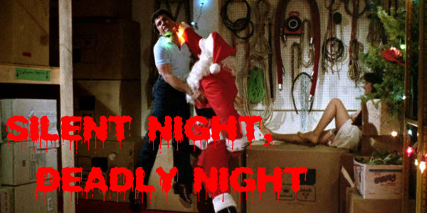 silent night deadly night logo movie shot