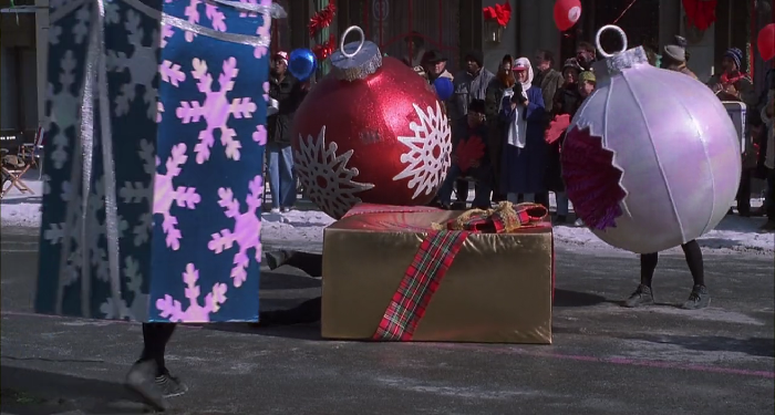 jingle all the way christmas movie parade gift costume funny image still