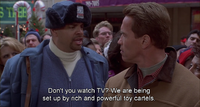 jingle all the way sinbad pstman myron postman mail man conspiracy speech