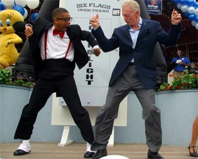 jerry jones funny cowboes urkel dance