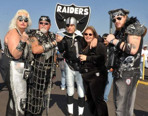 raiders fans white trash nfl joke funny hilarious write ups