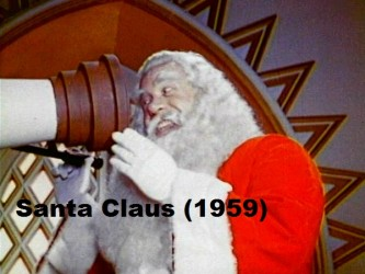 santa for movie reviews page