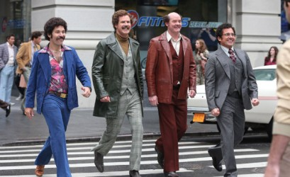 Anchorman2: older, dumber,  and learning nothing.