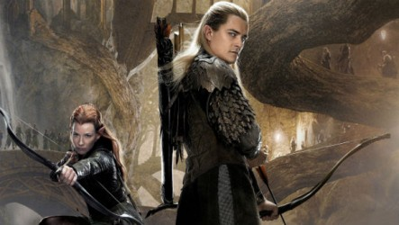 This is Legolas, the central character of The Hobbit, believed to be a author proxy representing J.R.R. Tolkien