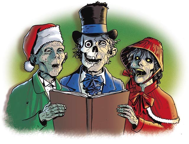 zombie xmas christmas funny list of dumb christmas shit