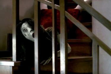 Ghoul descending a stair-case