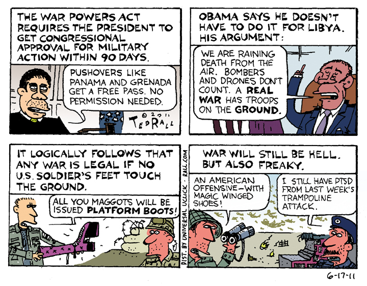 ted rall obama scalia cartoon