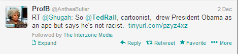 ted rall racist tweets
