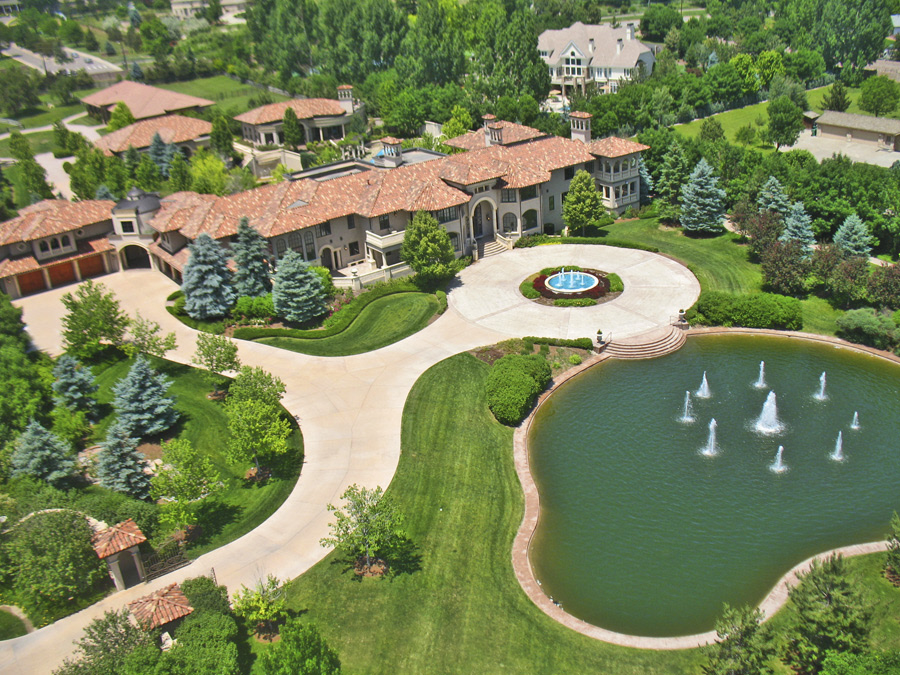 Carmelo Anthony's house home mansion estate rich networth