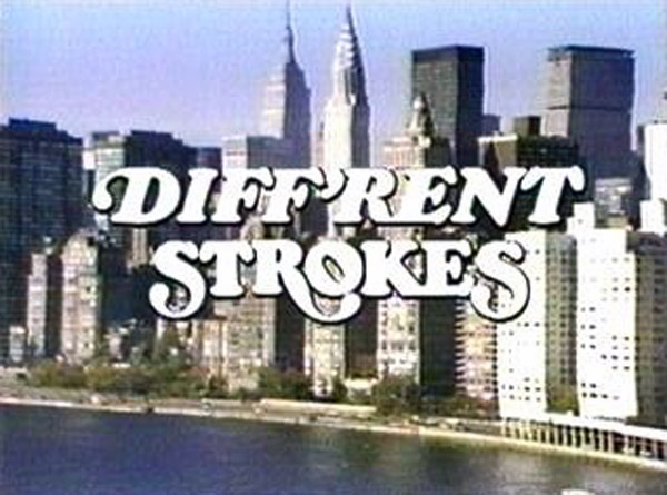 diff'rent strokes tv logo screenshot opening credits