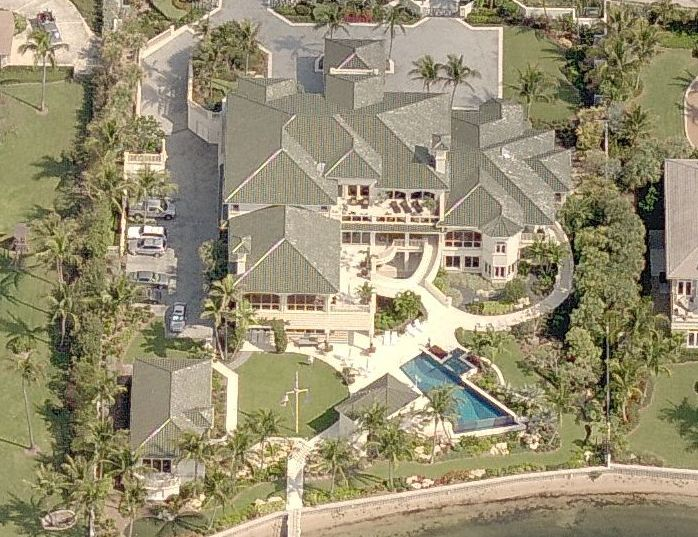 Home of Orlando Magic owner and pyramid scheme billionaire, Richard DeVos.