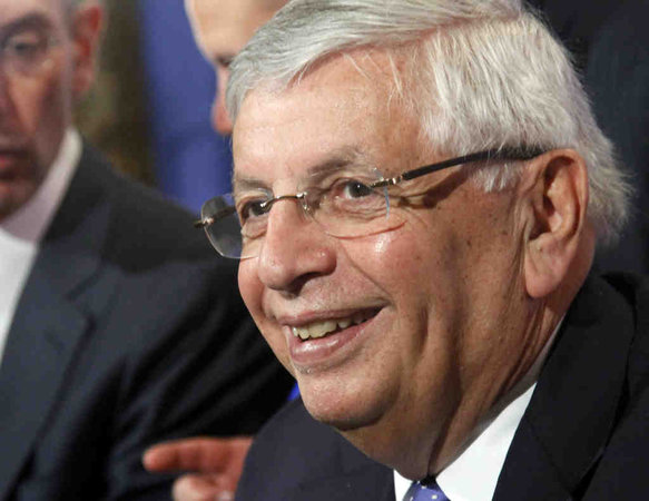 david stern nba cares smile greed
